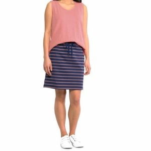 Joe Fresh Stripe Drawstring Waist Skirt